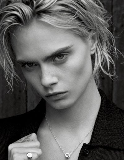 Cara Delevingne by Thomas Whiteside