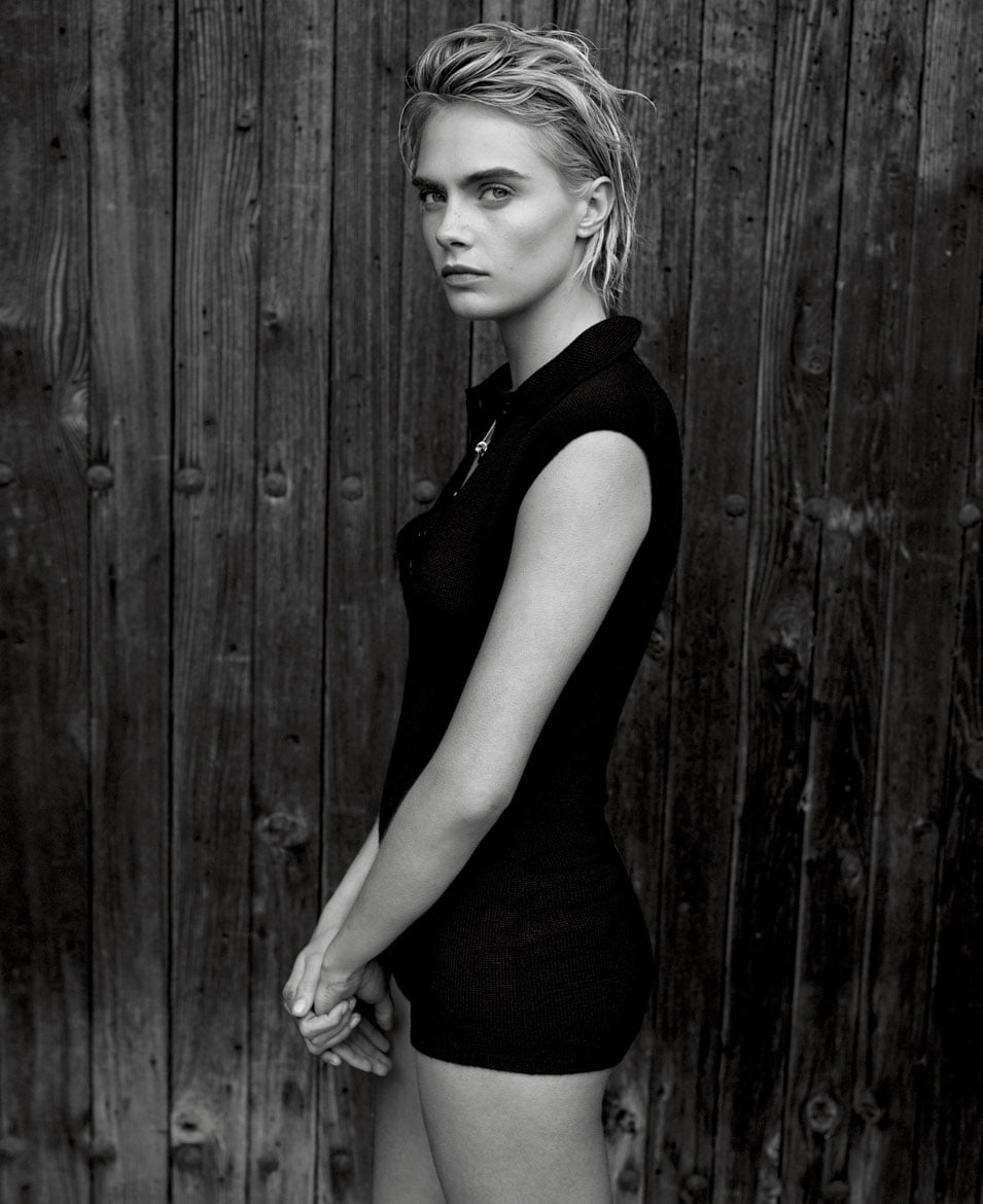 Cara Delevingne photo by Thomas Whiteside