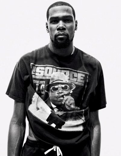 Kevin Durant by Mario Sorrenti