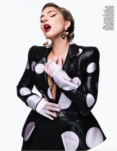 Lady Gaga in Elle Magazine