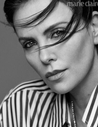 Charlize Theron by Thomas Whiteside